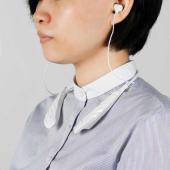 ケンコー、ノイキャン機能を搭載したスタイリッシュな首かけ式集音器