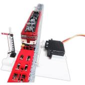 信号や遮断器を簡単なプログラムで動かす「Arduinoで楽しむ鉄道模型実験ボード」