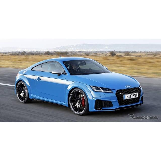 アウディは7月18日、『TTクーペ』と『TTロードスター』(Audi TT Coupe / Audi TT Roadster)の改良新型モ...