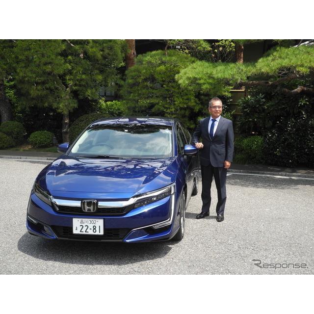 ホンダは7月19日、プラグインハイブリッド車『クラリティPHEV』(Honda Clarity PHEV)を20日から販売する...
