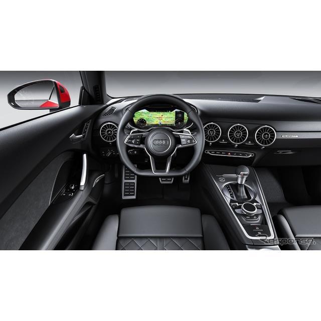 アウディは7月18日、『TTクーペ』と『TTロードスター』(Audi TT Coupe / TT Roadster)の改良新型に、最新...
