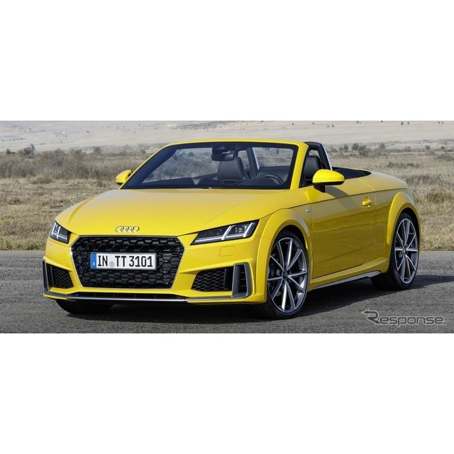 アウディは7月18日、『TTクーペ』と『TTロードスター』(Audi TT Coupe / TT Roadster)の改良新型モデルに...