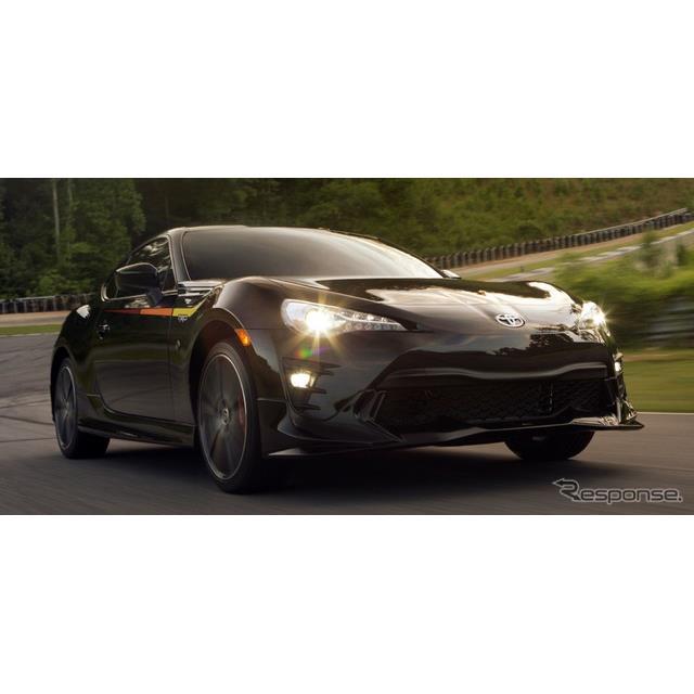 トヨタ自動車の米国部門、米国トヨタ販売は7月23日、トヨタ『86』の2019年モデルを発表した。  2019年モ...
