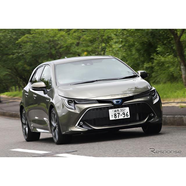 トヨタ自動車は、新型車『カローラスポーツ』について、6月26日の発売から1か月にあたる7月25日時点で、月...