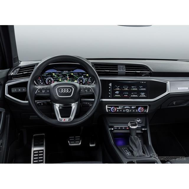 アウディは7月25日、新型『Q3』(Audi Q3)の概要を明らかにし、同車に最新の車載コネクティビティを採用す...