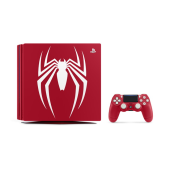 「PlayStation 4 Pro Marvel's Spider-Man Limited Edition」(画像中の「PlayStation 4 専用縦置きスタンド CUH-ZST2J」は別売り)