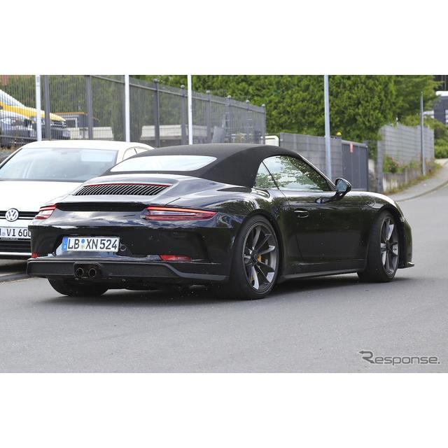 ポルシェ『911』のハードコアモデル、『911 GT3』に史上初のカブリオレが設定されることが確実となった。91...