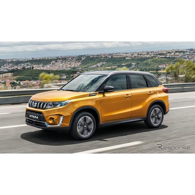 スズキの欧州部門は7月30日、『ビターラ』(Suzuki Vitara、日本名:『エスクード』)の改良新型を欧州で発...