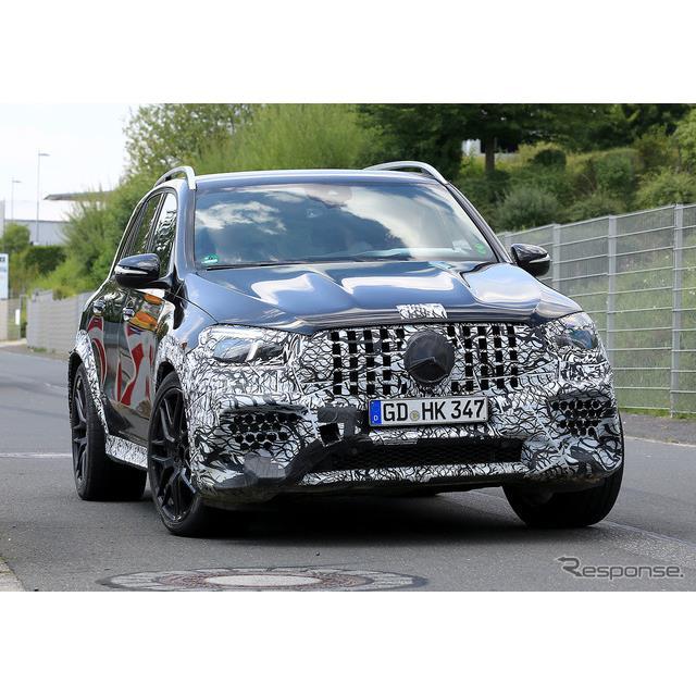 メルセデスベンツのミドルサイズ・クロスオーバーSUV『GLE』のハードコアモデル『AMG GLE 63』次期型プロト...