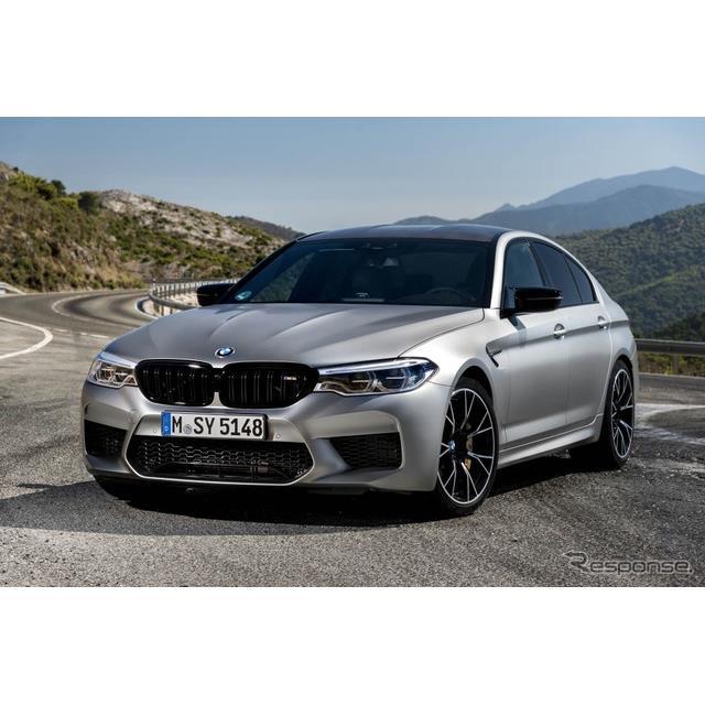 BMWは8月6日、新型『M5』のさらなる高性能モデル、『M5コンペティション』(BMW M5 Competition)を欧州市...