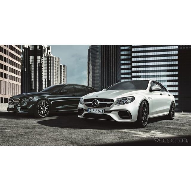 メルセデスベンツ日本は、『Eクラス』(Mercedes-Benz E-Class)に、V6エンジンの最高出力を向上した「E450...