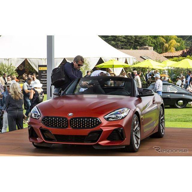 BMWは8月24〜26日、米国で開催された「ペブルビーチ・コンクール・デレガンス2018」(Pebble Beach Concour...