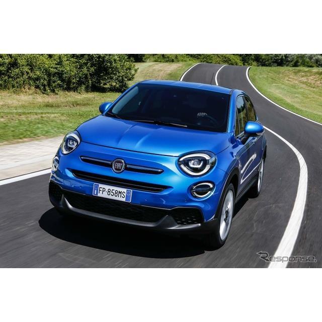 フィアットは8月27日、改良新型フィアット『500X』(Fiat 500X)を欧州で発表した。  フィアット500Xは20...