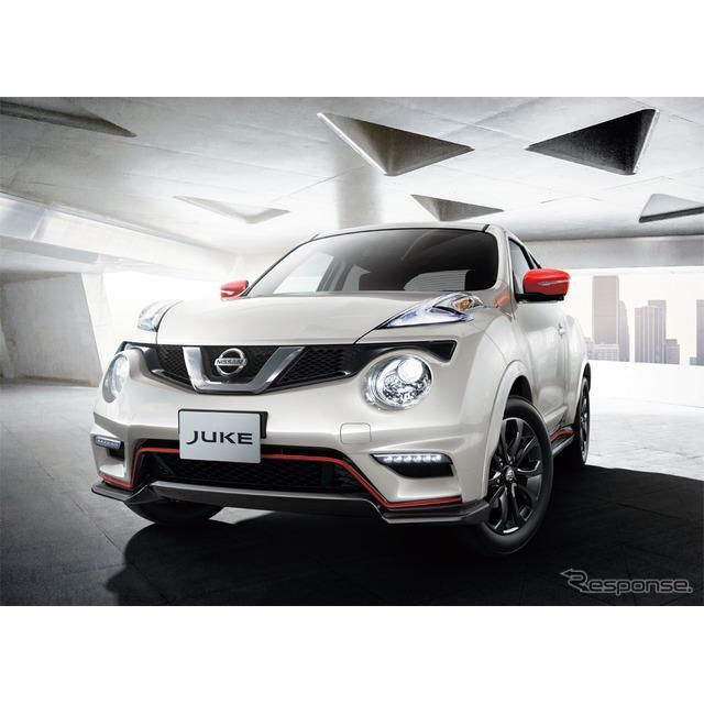 日産自動車は、コンパクトカー『ジューク』に「15RX Vセレクション スタイル NISMO」を追加し、8月29日より...