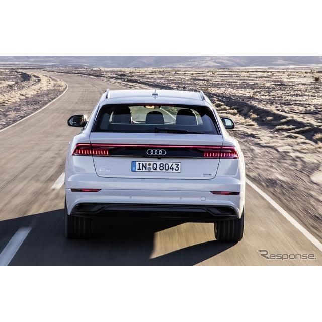 2019 Audi Q8 Camshaft: アウディ Q8、スマホアプリで自動駐車…2019年から