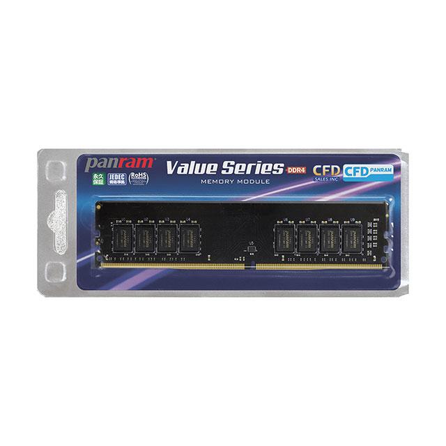 デスクトップ用 DDR4-2666 CL19メモリー