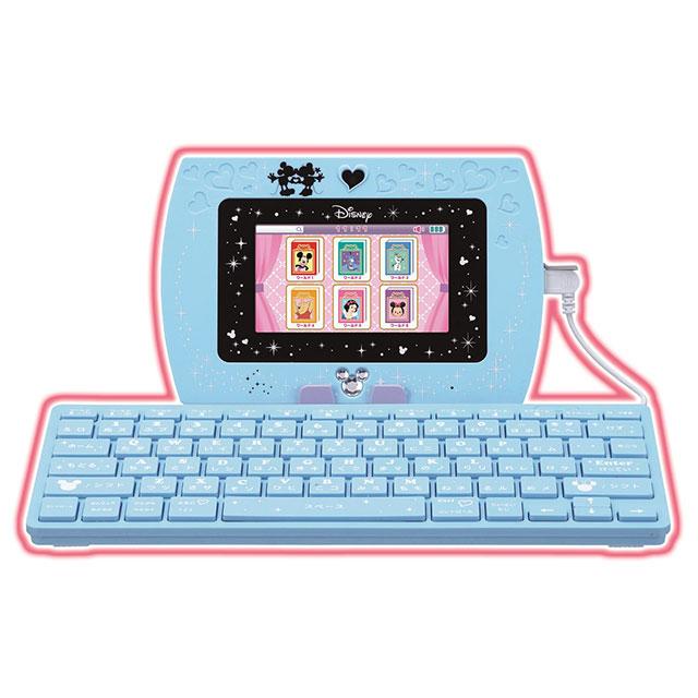 ディズニー&ディズニー/ピクサーキャラクターズ マジカル・ミー・パッド&専用ソフト マジカルキーボードセット