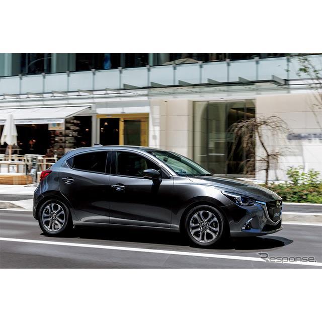 マツダは、コンパクトカー『デミオ』を商品改良、ガソリンエンジンを従来の1.3リットルから1.5リットルに排...