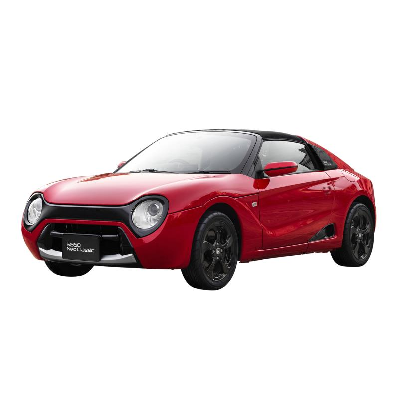 ホンダアクセスは2018年8月30日、軽スポーツカー「ホンダS660」をクラシカルなスタイリングにカスタマイズ...