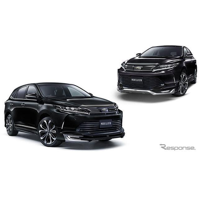 トヨタモデリスタインターナショナルは、トヨタ『ハリアー』の特別仕様車「スタイルブルーイッシュ」の発売...