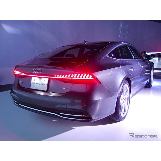 アウディジャパンは、スポーツ4ドアクーペ『A7スポーツバック』(Audi A7 Sportback)を7年ぶりにフルモデ...