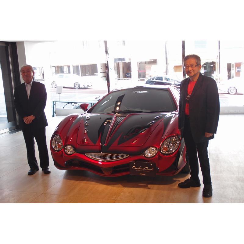 光岡自動車は2018年9月6日、ファッションスーパーカー「ミツオカ・オロチ」の限定車「デビルマン オロチ」...