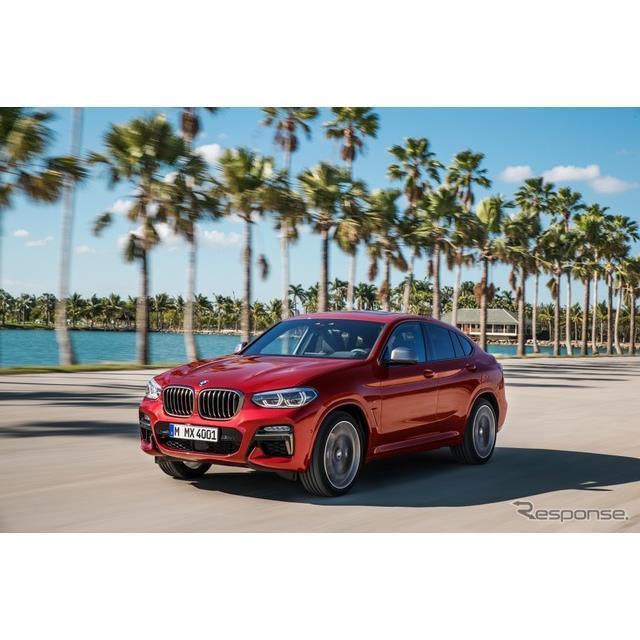 ビー・エム・ダブリュー(BMWジャパン)は、ミドルクラスSUV『X4』(BMW X4)を初のフルモデルチェンジ、9...
