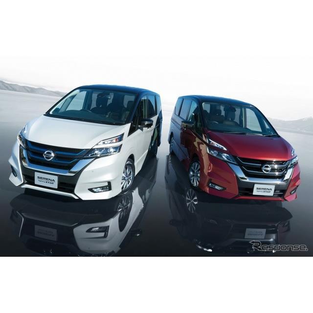 日産自動車は、ミニバン『セレナ』の仕様を一部向上し、9月6日より販売を開始した。  今回の仕様向上では...