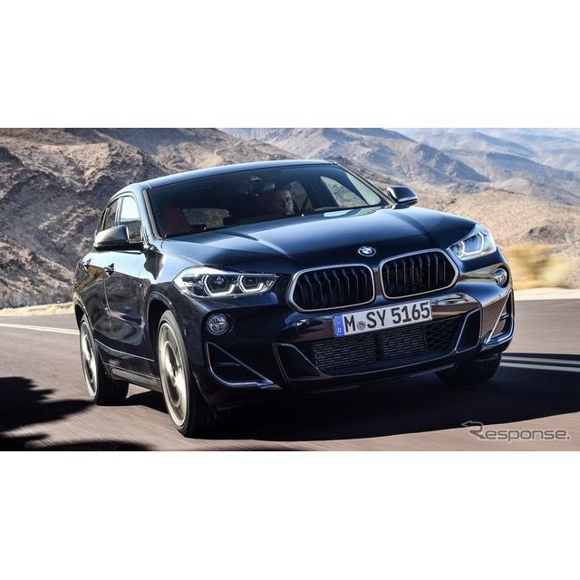 BMWは9月6日、コンパクトSUVの『X2』(BMW X2)に高性能グレードとして、「M35i」を設定すると発表した。 ...