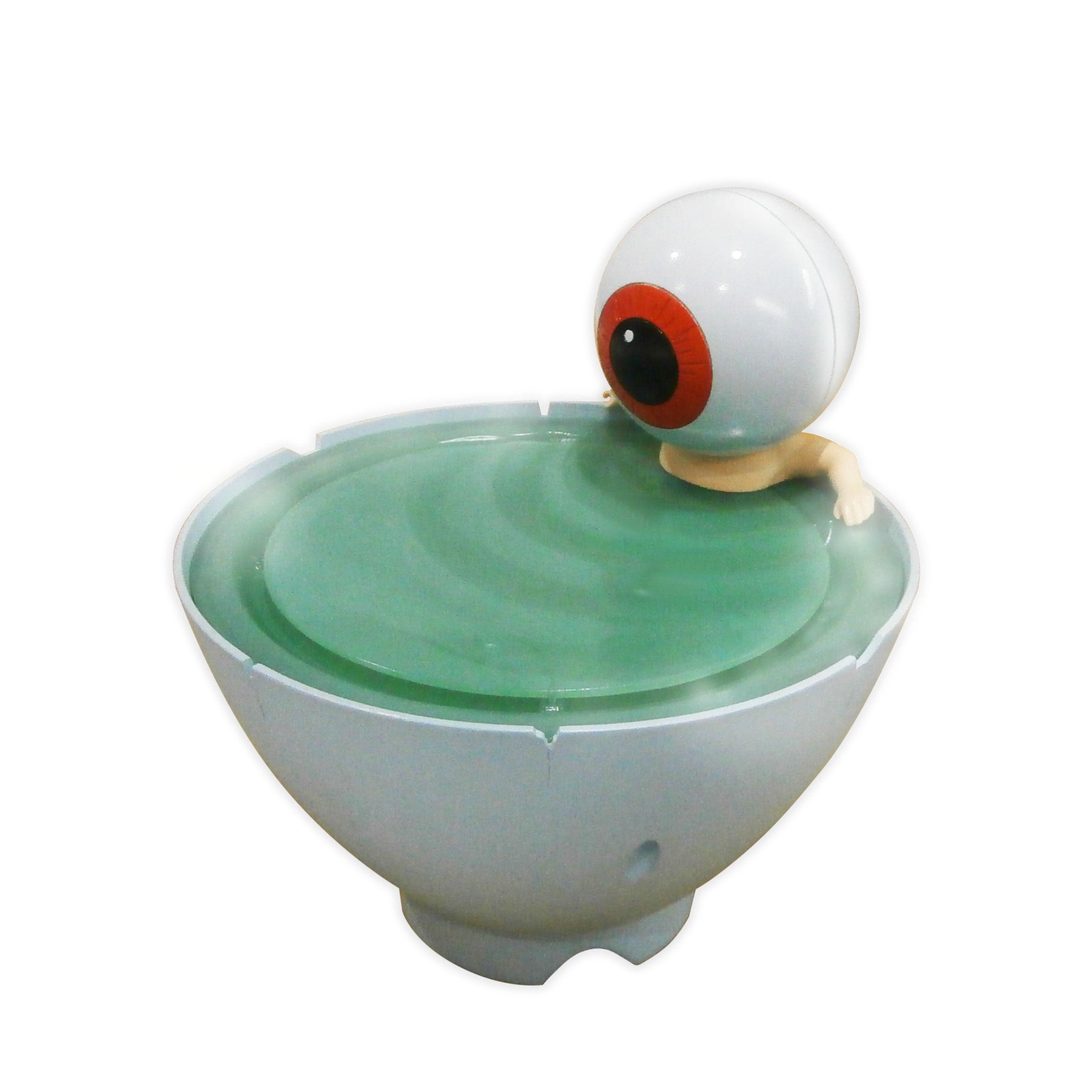 「ゲゲゲの鬼太郎 目玉おやじ 茶碗風呂加湿器」