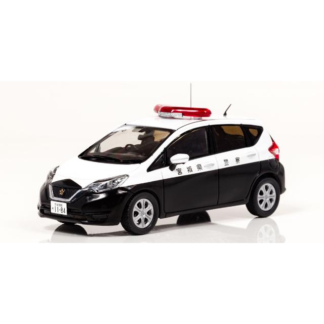 日産 ノート (E12) 2017 宮城県警察所轄署小型警ら車両