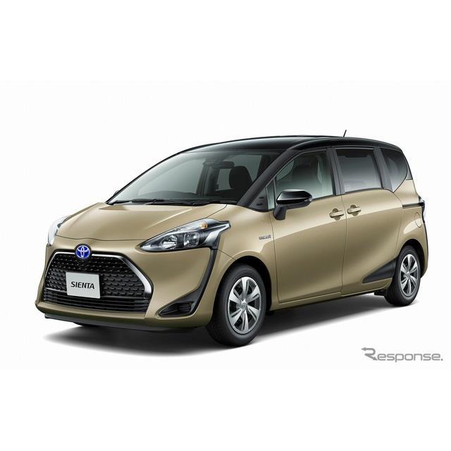 トヨタ自動車は、コンパクトミニバン『シエンタ』をマイナーチェンジ、2列シート車を新設定し、9月11日より...