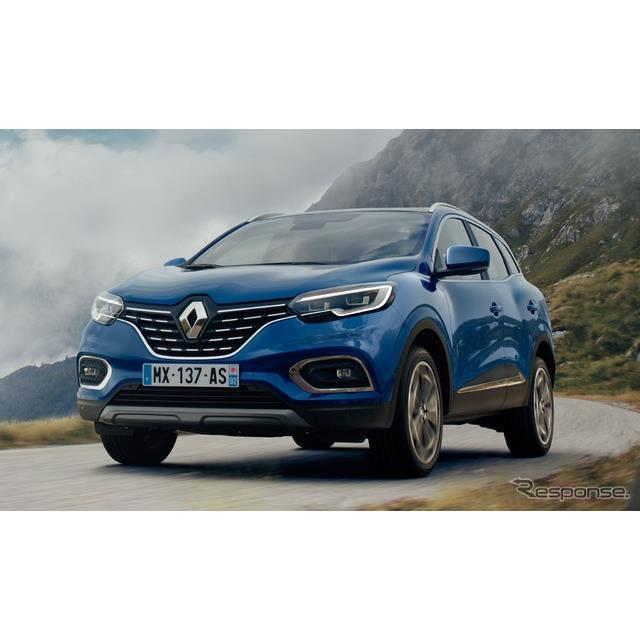 ●Cセグメントクロスオーバー  ルノーは9月12日、『カジャー』(Renault Kadjar)の改良新型を発表した。...