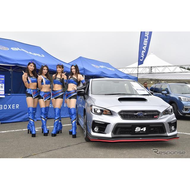 SUBARU(スバル)は『WRX S4 STIスポーツ』をSUPER GT第6戦が行われている、宮城県のスポーツランドSUGOで...