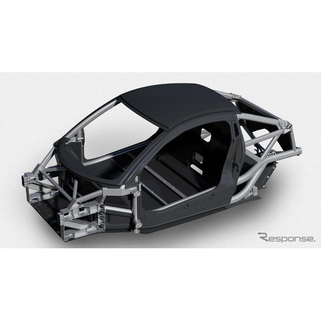 ゴードン・マレーの新型ミッドシップスポーツカーに採用される軽量構造、「iStreamスーパーライト」