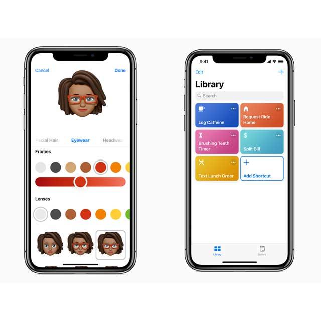 「iOS 12」イメージ