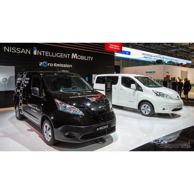 日産自動車は9月19日、ドイツで開幕したハノーバーモーターショー2018(IAA商用車)において、改良新型『e-...