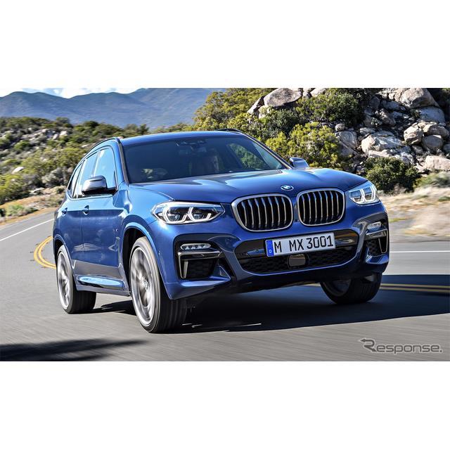 ビー・エム・ダブリュー(BMWジャパン)は、ミドルクラスSUV『X3』に、日本初導入となるディーゼルエンジン...