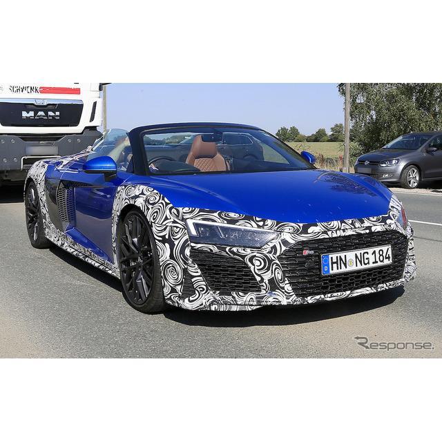 アウディのフラッグシップスポーツ『R8 GT』の派生モデルであり、アウディ最速のオープンスポーツとなる『R...