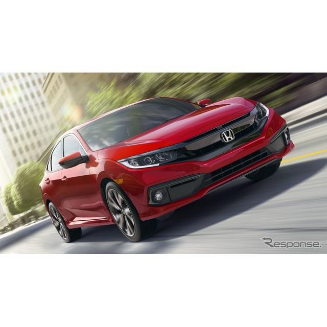 ●3年過ぎて大幅改良  ホンダの米国部門、アメリカンホンダは9月24日、『シビック・セダン』(Honda Civi...