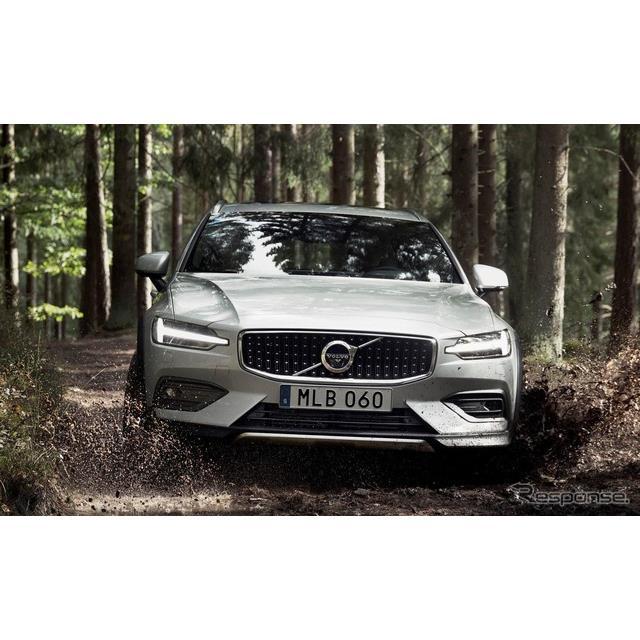 ●最低地上高を75mmアップ  ボルボカーズは9月25日、新型『V60クロスカントリー』(Volvo V60 Cross Coun...