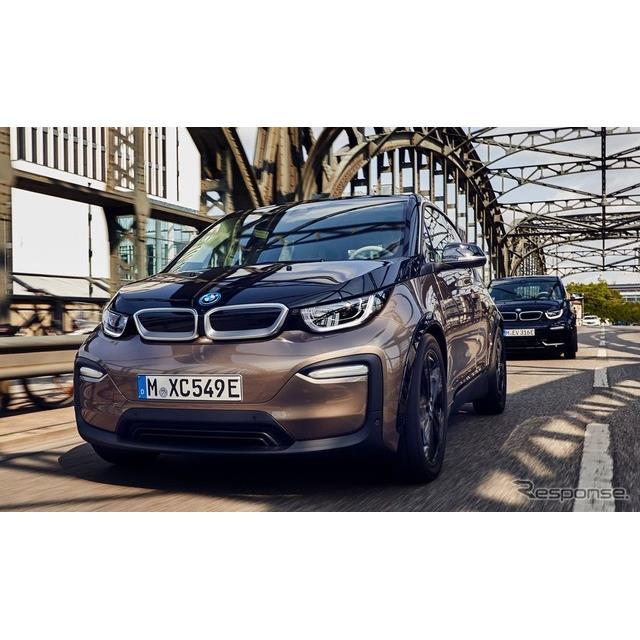 BMWグループは9月28日、EVの『i3』に大容量バッテリーを搭載し、航続を拡大した新グレード「120Ah」を、欧...