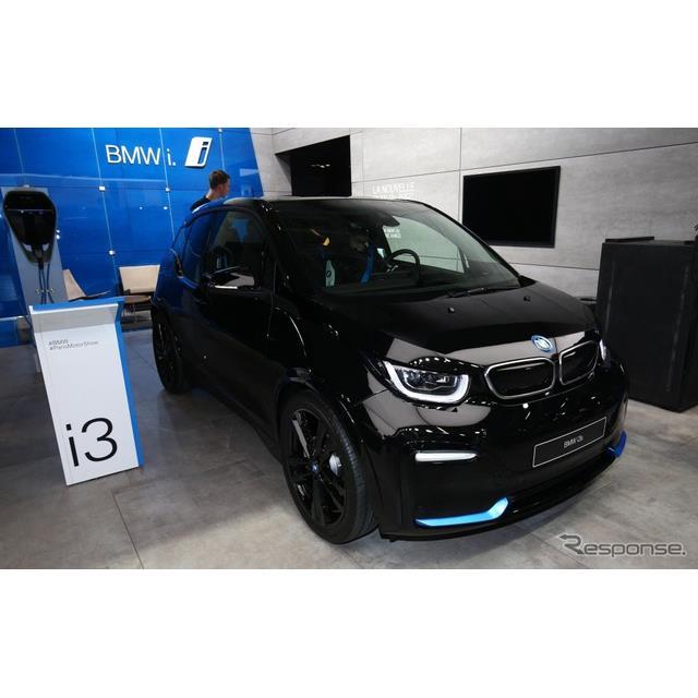 ◆大容量バッテリーを搭載し、航続を延長  BMWグループは10月2日、フランスで開幕したパリモーターショー...