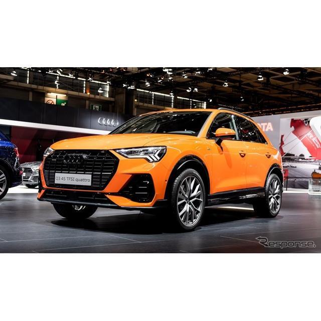 アウディは10月2日、フランスで開幕したパリモーターショー2018において、新型『Q3』(Audi Q3)をワールド...