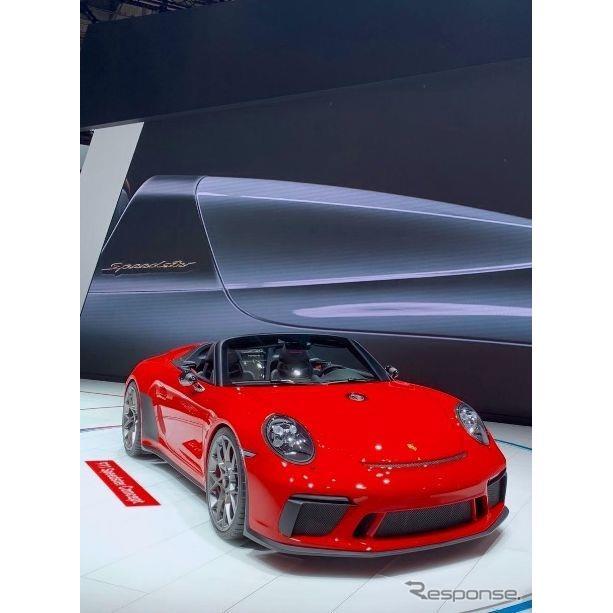 ポルシェ 911スピードスターコンセプト(パリモーターショー2018)