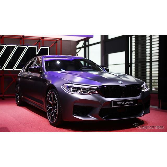 ◆M5のさらに上  BMWはフランスで開幕したパリモーターショー2018において、新型『M5』のさらなる高性能...