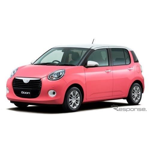 ダイハツは、小型乗用車『ブーン』をマイナーチェンジし、10月10日より販売を開始した。  今回のマイナー...
