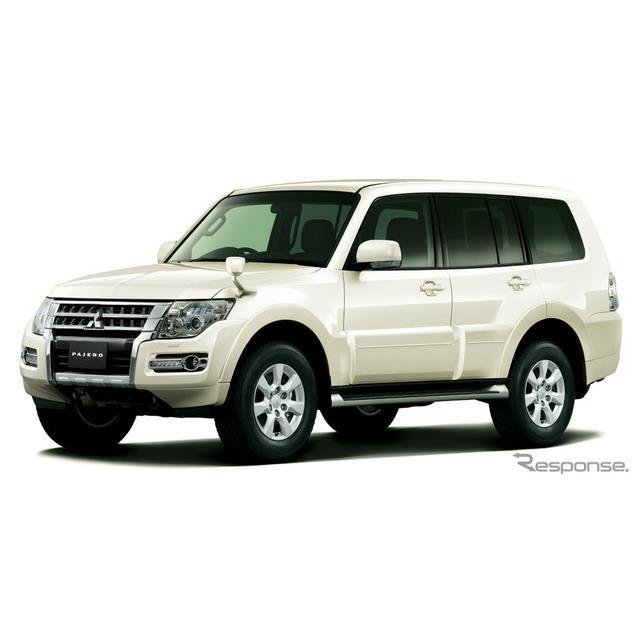 三菱自動車は、『パジェロ』に人気オプションを標準装備するなど一部改良を施し、10月11日より販売を開始し...