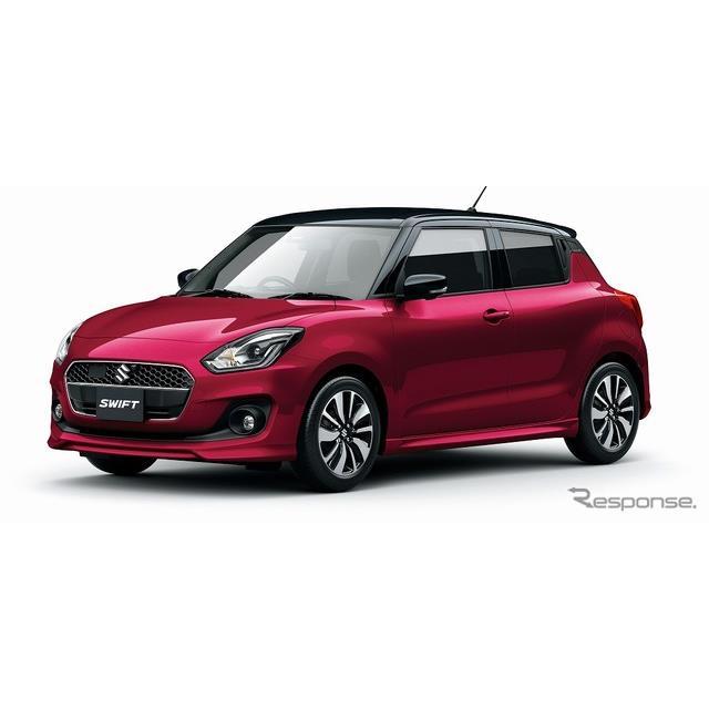 スズキは、小型乗用車『スイフト』に特別仕様車「XRリミテッド」を設定し、10月11日より販売を開始した。 ...