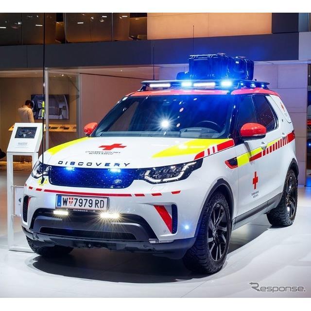 ランドローバーは、フランスで開催中のパリモーターショー2018において、『ディスカバリー』(Land Rover D...